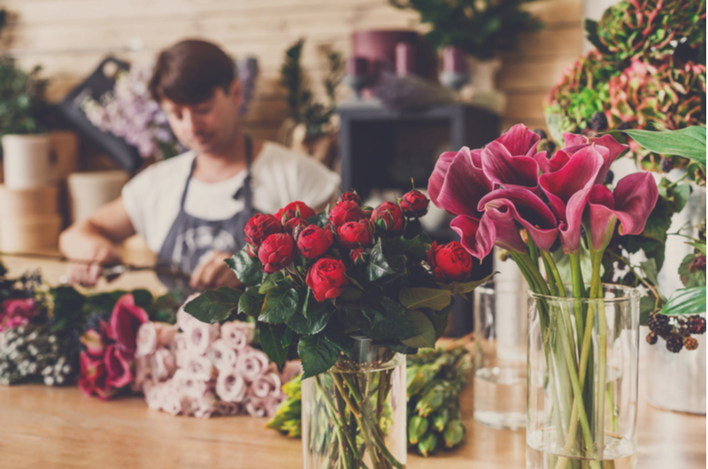 Florist and Flowers