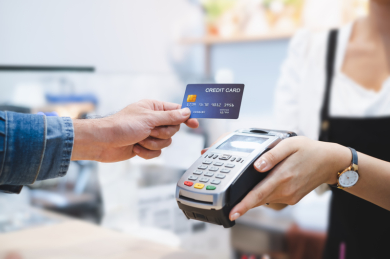 Credit Card and Card Reader
